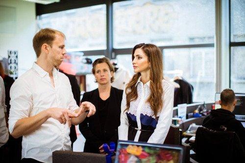 Actualité du 17/09/2015 ( La Reine Rania à Berlin)