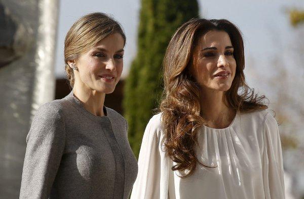 Actualité du 20/11/2015 (La Reine en Espagne Jour 2)