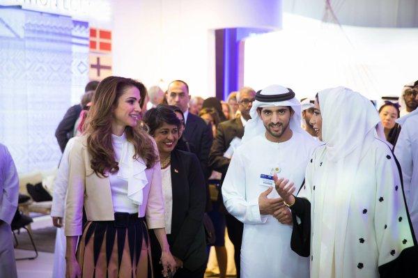 Actualité du 23/02/2016 (La Reine Rania au Global Women's Forum)