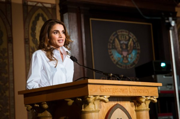 Actualité du 14/04/2016 (La Reine Rania à Washington)