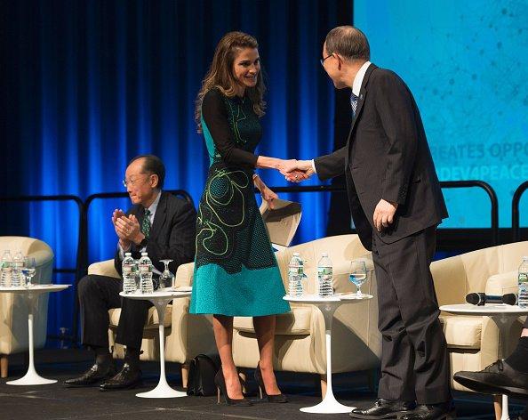 Actualité du 15/04/2016 (la reine et le prince héritier à Washington)