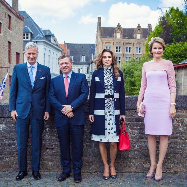 Actualité du 19/05/2016 (les souverains jordaniens en Belgique Jour 2)