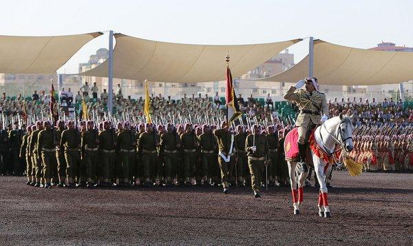 Parade de la Grande Révolte Arabe