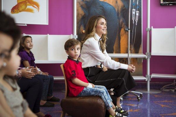 Actualité du 20/08/2017 (La Reine Rania et les enfants)