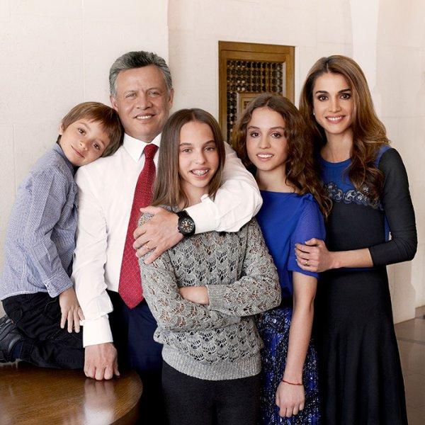 Rétrospective des cartes de voeux de la famille Royal Hachémite : 2011-2017