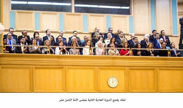 Ouverture de la seconde session du 18ième Parlement Jordanien (partie 1)