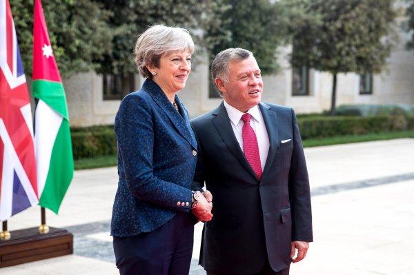 Actualité du 30/11/2017 (Le roi et le premier ministre britannique) le roi