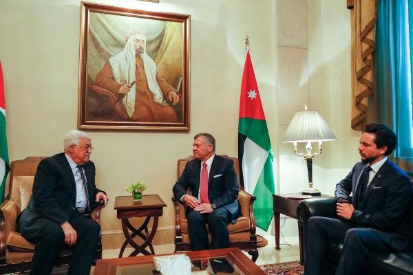 Actualité du 07/12/2017 (Le roi et le président palestinien)