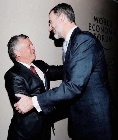 Actualité du 24/01/2018 (Le roi au WEF) (Davos jour 2)