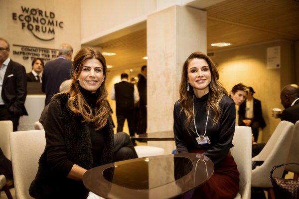Actualité du 24/01/2018 (La reine au WEF) (Davos jour 2)