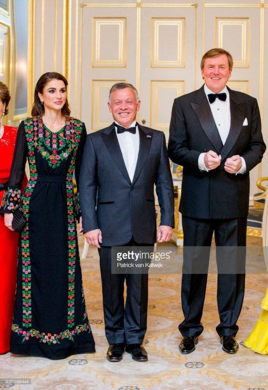 Actualité du 20/03/2018 (Visite officielle aux Pays-Bas des souverains jordaniens) (Jour 1)
