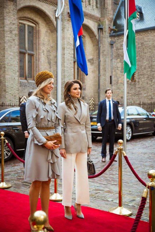 Actualité du 21/03/2018 (Visite officielle des souverains jordaniens aux Pays-Bas) (Jour 2)