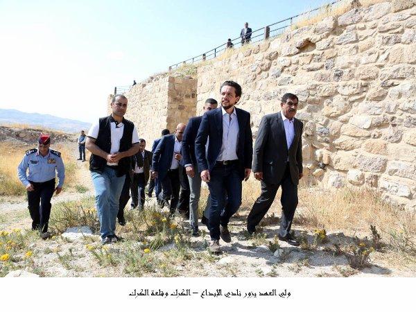 Actualité du 22/04/2018 (Le prince héritier à Al-Karak)