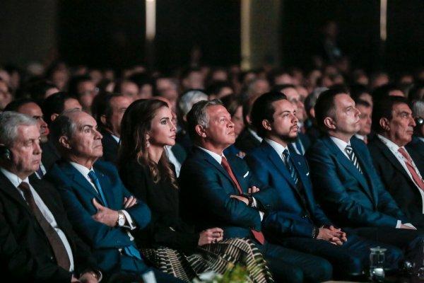Actualité du 09/05/2018 (Le roi, la reine et le prince à la réunion annuelle de la BERD)