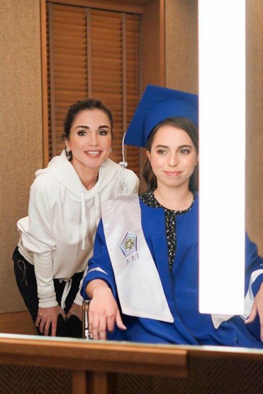 Cérémonie de remise des diplômes de la princesse Salma bint Abdullah II de Jordanie !