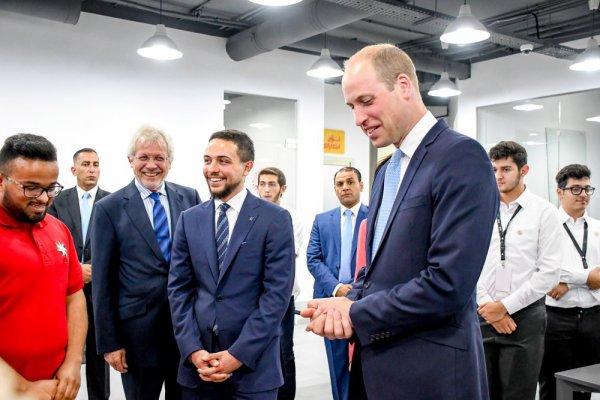Actualité du 24/06/2018 (Le prince héritier et le prince William)