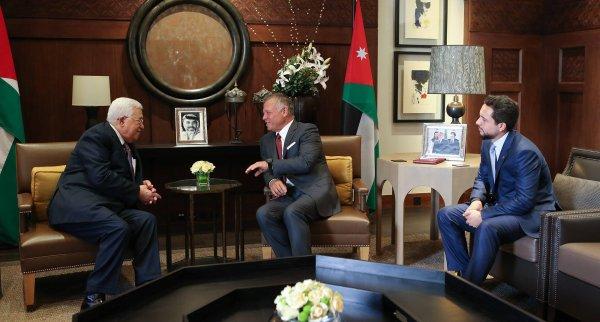 Actualité du 08/08/2018 (le roi, le prince héritier et le président palestinien)