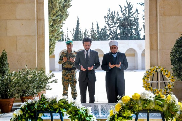 Actualité 10/02/2019 (Le prince héritier et le 20ième anniversaire de décès du roi Hussein)