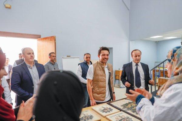 Actualité du 08/04/2019 (le prince héritier à Madaba)