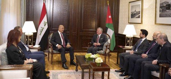 Actualité du 23/05/2019 (le roi, le prince héritier et le président irakien)