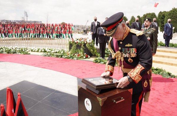 Actualité du 11/04/2021 (Le roi, le prince héritier au Mémorial des Martyrs)