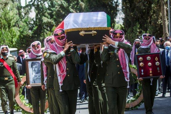 Funérailles du prince Muhammed bin Talal