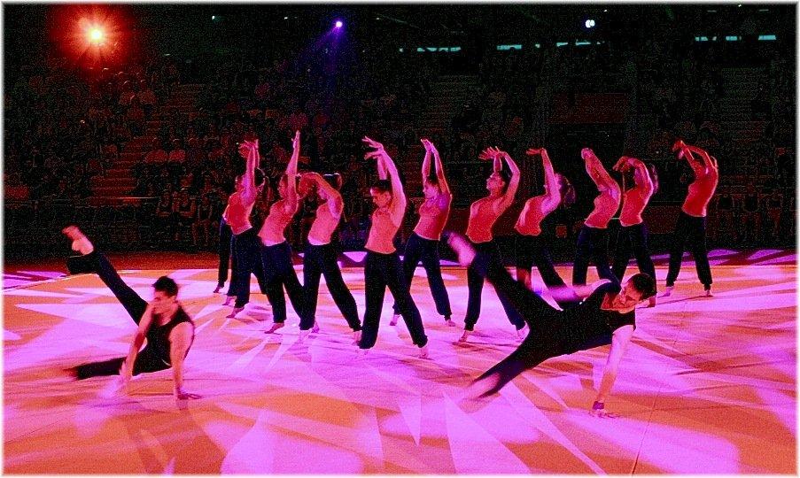 gymnastique rytmique , danse et coups de coeurs