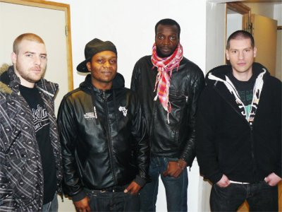 Mesk, Negro 94, Djibs & Holdem session studio