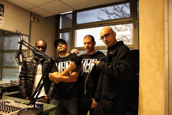 Negro 94, Dj Tal, Dj Holdem et Amdyaz  (N-Da-Hood) a Dj Tal Connexion