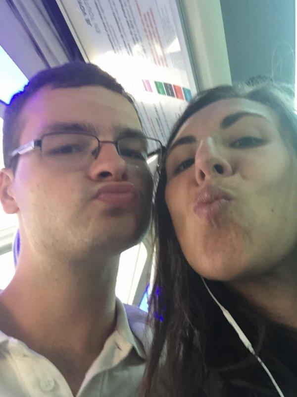 Ma fiancée et moi