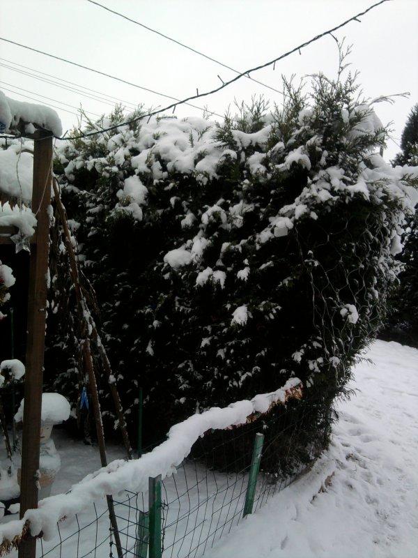 la neige depuis 3 jours