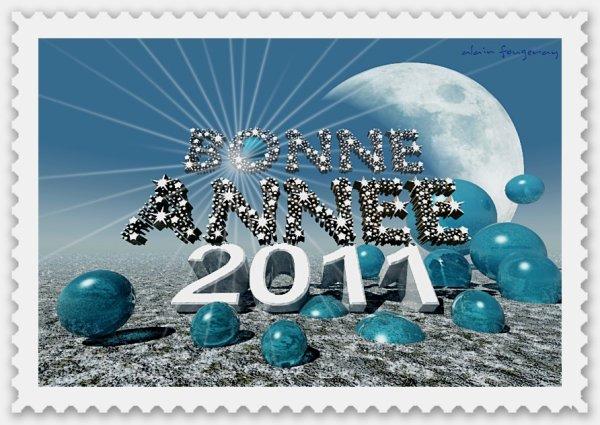 bonne année 2011 a tous