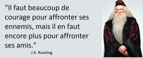 Une citation de J.K. Rowling