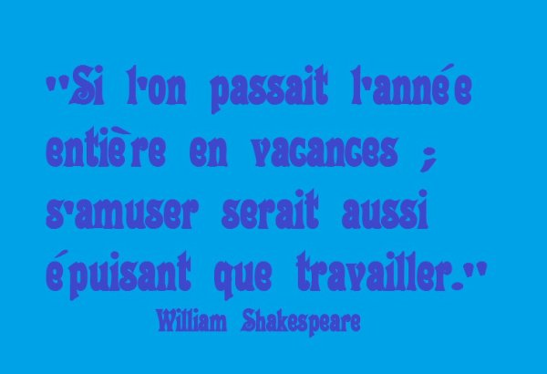 Une citation de William Shakespeare