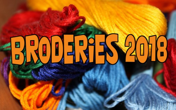 Sommaire: Broderie 2018