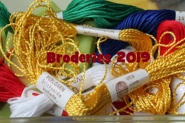 Sommaire: Broderies 2019