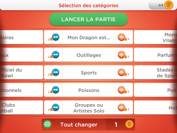 Application: Le jeu du bac