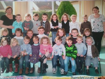 la photo de classe a cylia