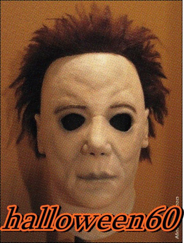 voici le masque de myers dans halloween 20 apres