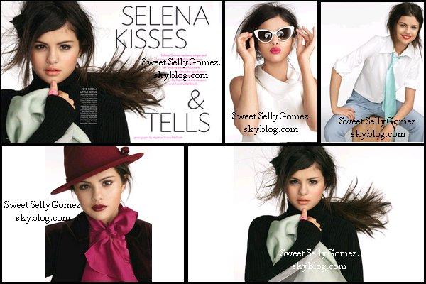 Photoshoot de Selena pour le magasine Glamour (pour Septembre) Votre avis?