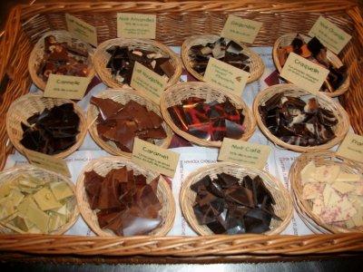 Visite de la fabrique de chocolat à Bayonne (trop bon)