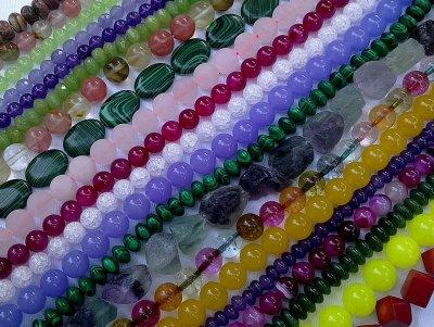 Mes perles en Gemmes, autres que bleues