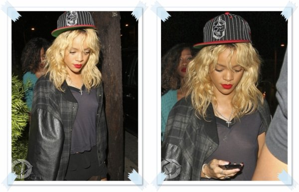 Rihanna arrive au club «Greystone» à Los Angeles le 04/03/12