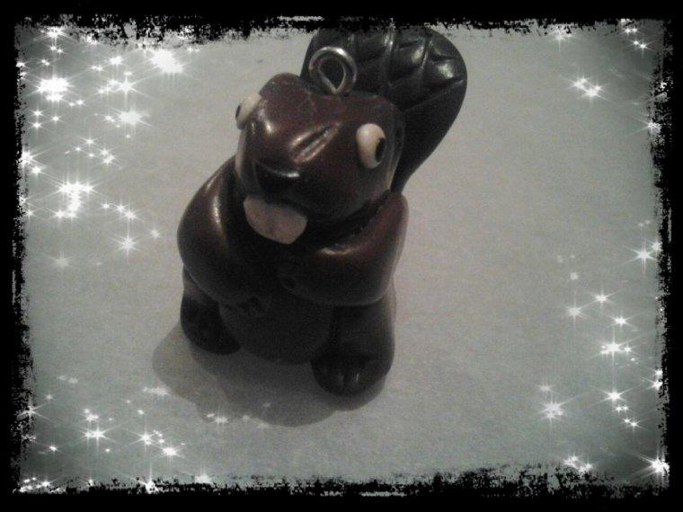 figurine castor