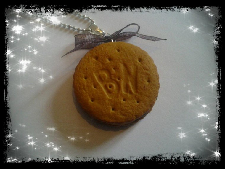 Sautoir mini BN chocolat