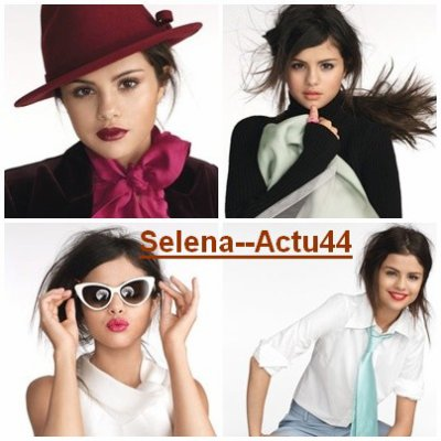 Selena ki Pose Pr le magazine Glamour  Mexicain  V'la kelke foto