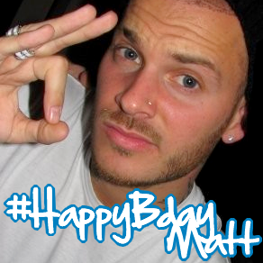 #HappyBdayMatt26ans