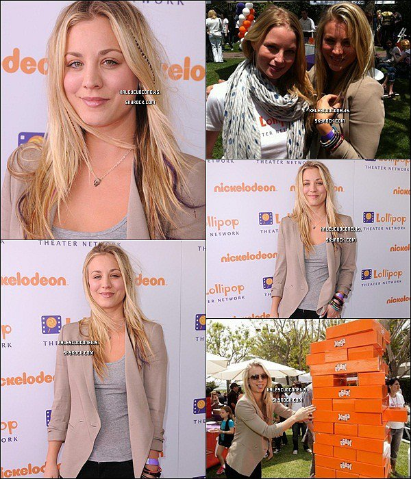 07/05/2011 : Kaley au Lolipop Theater Network