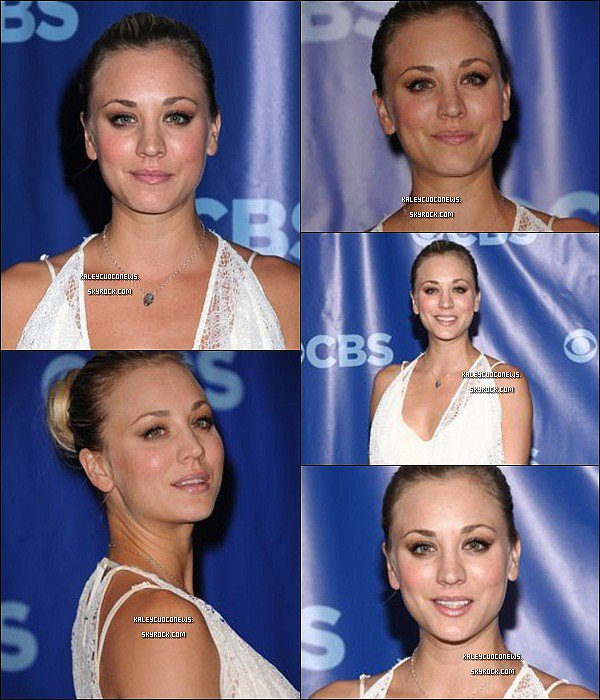 18/05/2011 : Kaley était à New Your pour la Upfront 2011 CBS