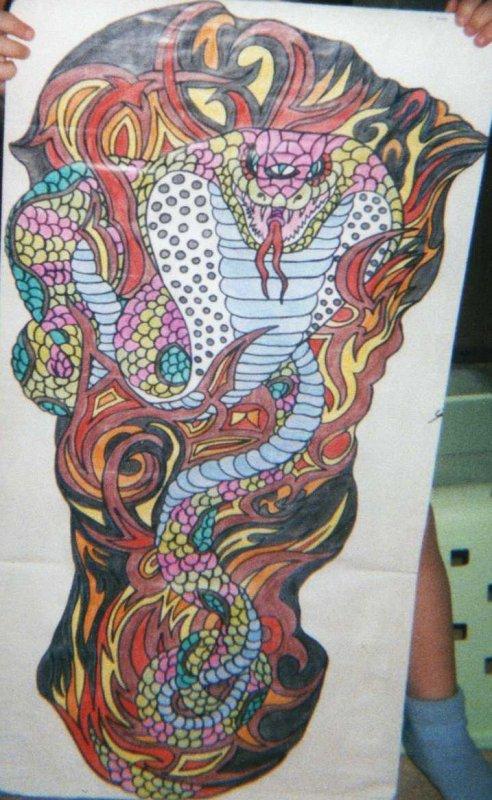 dessin fait main créer par mon homme